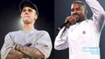 Justin Bieber Shares Cryptic Photo With Kanye West | Billboard News