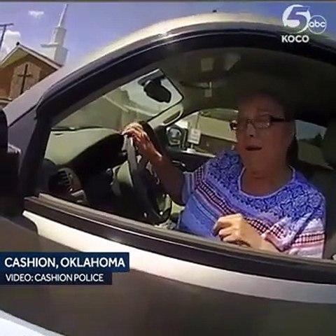 Cette mamie refuse de payer une amende de 80$ et va le regretter !