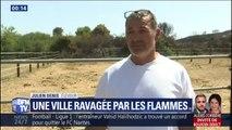 L'exploitation de Julien, un éleveur de Générac, a été sauvée des flammes grâce à la solidarité de ses voisins
