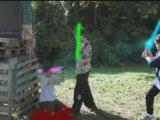 Combat sabre lazer