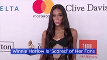Winnie Harlow Struggles With Fame