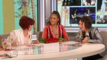 The Talk - Sharon Osbourne Gives Emotional Goodbye to Sara Gilbert; 'She's like a sister'