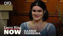 Barbie Ferreira on getting her start as a curve model with American Apparel