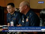 Philippine Coast Guard ready for typhoon season