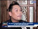 Fil-Am TV producer nominated anew in Emmys