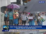 Heavy rains, floods hit parts of Metro Manila