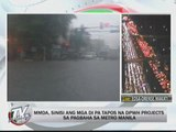 MMDA blames road diggings for floods