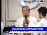 CBCP tells public: Stop accepting lawmakers' pork