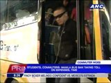 Commuters affected by Manila bus ban
