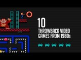 Top 10 Throwback Video Games From the 1980s