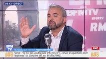 """Mort de Steve: Alexis Corbière assure n"""" pas avoir """"un propos anti-policiers"""""""