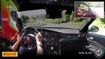 510-HP Alfa Romeo Giulia - Record Lap on the Nürburgring