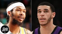 Lonzo Ball or Brandon Ingram: Who's more likely to take the next step? - The Jump