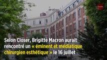 Brigitte Macron hospitalisée pour une opération de chirurgie esthétique