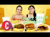 Shake Shack Philippines Burgers + Fries Mukbang | Eating Show