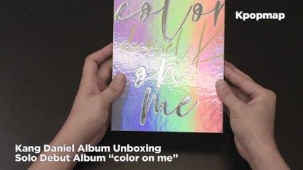 "[Unboxing] Kang Daniel Solo Debut Album ""color on me"""