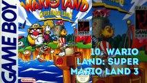 Los 10 Videojuegos más vendidos de la Game Boy