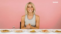 Watch Julianne Hough Taste Test Cauliflower Crust Pizzas | Food Fight