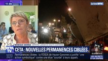"""""""Je n'ai pas peur des menaces."""" La députée LaREM dont la permanence a été visée avec du fumier en Haute-Garonne réagit sur BFMTV"""