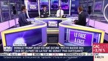 """Mathieu L'Hoir VS Eric Bertrand (1/2): Donald Trump a estimé """"insuffisante"""" la baisse de taux de la Fed - 02/08"""