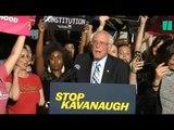 """""""Stop Kavanaugh"""", des centaines d'américains se sont rassemblés devant la Cour suprême"""