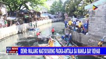 DENR: Walang nagyayaring pagka-antala sa Manila Bay rehab