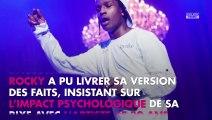 """A$AP Rocky jugé en Suède : """"choqué et effrayé"""", il raconte sa version des faits"""