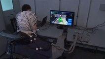 Quadriplegic Plays Video Game Using Brain-Computer Interface