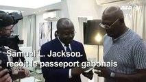 Samuel Jackson reçoit un passeport gabonais,pays de ses ancêtres