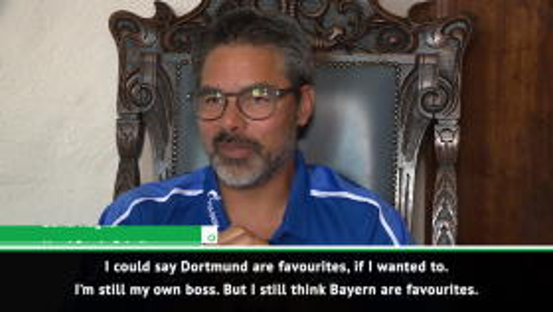 David Wagner backing Bayern for Bundesliga title