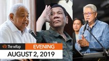 Duterte hits Gordon for ex-military appointees comment | Evening wRap