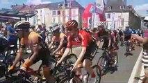 Départ fictif du Tour d'Alsace à Vesoul