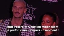 Matt Pokora refuse de révéler le contenu du dernier SMS que lui a envoyé Christina Milian