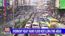 Overnight heavy rains flood NCR's low-lying areas