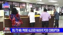 DOJ to NBI: Probe alleged massive PCSO corruption