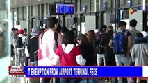 CAAP implements student exemption from airport terminal fees