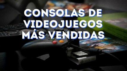 Consolas de videojuegos más vendidas