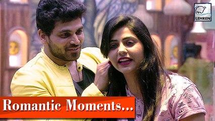 Bigg Boss Marathi 2 Shiv Thakre And Veena Jagtaps Cute And Romantic Moments