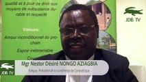 """Mgr Nestor Désiré NONGO : """"Même les combattants sont fatigués de cette crise qui perdure"""""""
