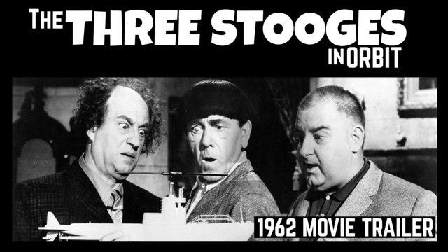 The Three Stooges in Orbit- Vintage 1962 Movie Trailer