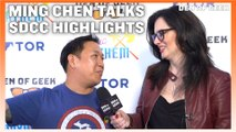 Ming Chen Discusses The Highlights of SDCC 2019