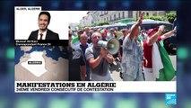 24e vendredi de manifestation à Alger, au milieu d'un fort déploiement policier