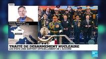 Fin du traité de désarmement nucléaire, un danger pour la sécurité internationale ?
