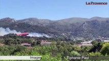 Marseille : important dispositif déployé pour éteindre un incendie à La Valentine