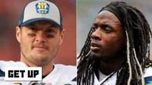 Philip Rivers undercut Melvin Gordon by saying Chargers have 'dang good' RBs - Foxworth - Get Up