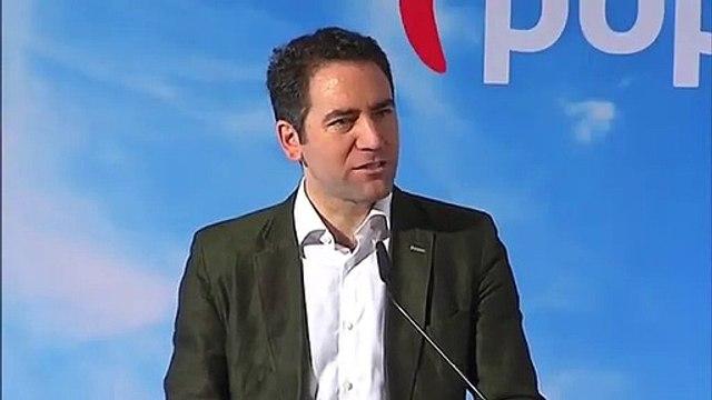 """García Egea le lanza una advertencia a Sánchez: """"Que pierda la esperanza de una abstención del PP"""""""