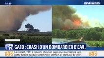 Gard: ce que l'on sait du crash d'un bombardier d'eau