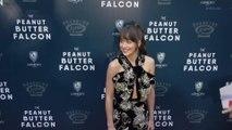 Dakota Johnson attends the Peanut Butter Falcon Premiere