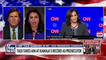 Tulsi Gabbard sounds off after ripping Kamala Harris at debate