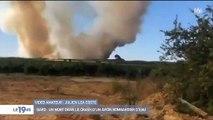 Gard : crash d'un bombardier d'eau intervenant sur l'incendie de Générac